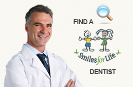 Find a Smiles For Life participating dentist for tooth whitening