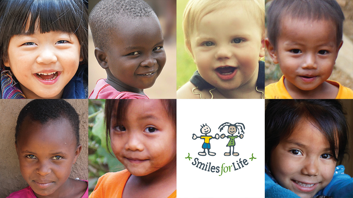 Smiles for Life, one of many reputable children's charities.